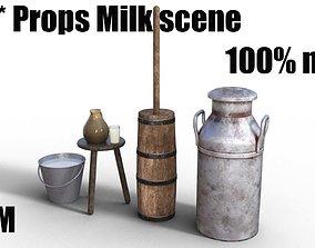 3D model MilkingProps