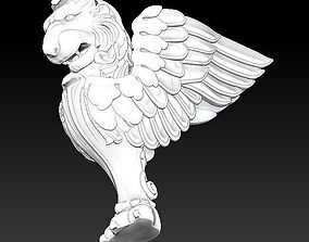 fly lion leg statue 3D printable model