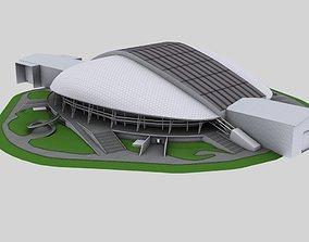 Stadium Fisht 3D asset