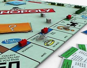 Monopoly Game 3D model