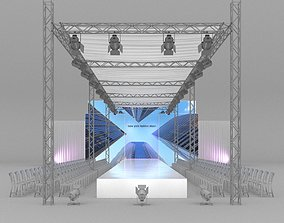 Fashion Catwalk 3D model