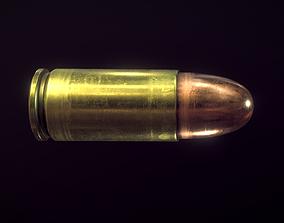Bullet 9 mm 3D model