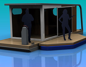Floating house 3D