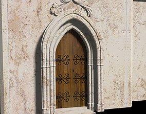 3D Castle Door 3