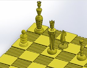 chess for 3d printing