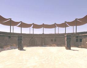 3D model Arena for fights