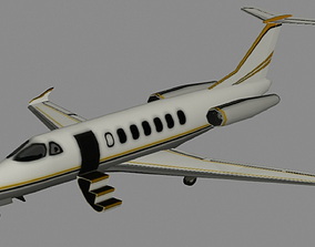 3D model Private Jet