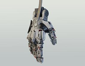 3D hand mechanical 03