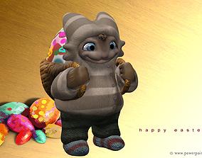 Easter Bunny 3D printable model