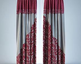 3D model blinds Curtain