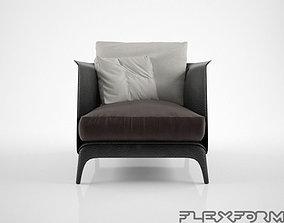 3D Flexform Isabel Armchair