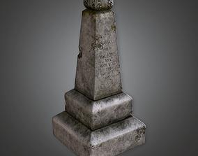 Cemetery Grave 2 CEM - PBR Game Ready 3D asset