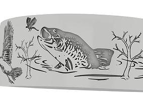 Wildlife band 3D print model