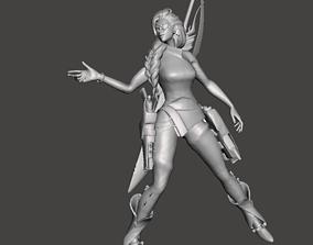Samira 3D Model