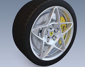 3D Sport Wheel With Brake System