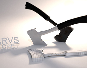 3D model Hatchet of Marv