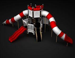 3D model equipment Outdoor Castle