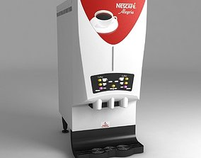 3D model Nescafe alegria v-cafe coffee machine
