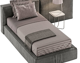 SINGLE BED 10 3D