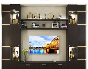 TV WALL UNIT 1 3D model
