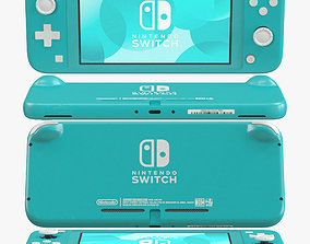 Nintendo Switch Lite - Turquoise 3D