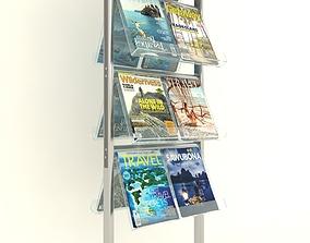 Brochure Stand 3D model brochure