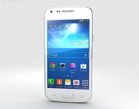 3D Samsung Galaxy Core Plus White