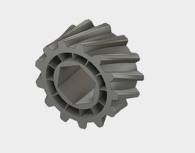 Helical Gear 3D print model