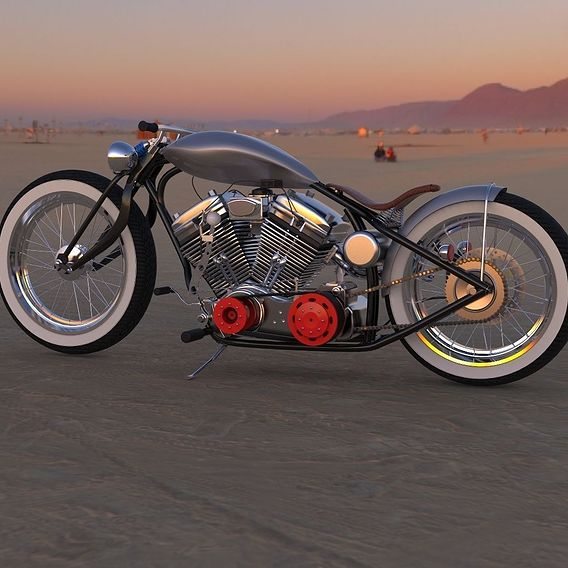 The 'West Wind' Custom bobber Concept Bike