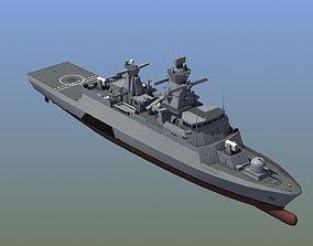 3D asset Braunschweig Corvette