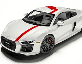 Audi R8 Coupe 2018 Model 3D