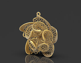 Ultra Fusion Pendant STL 3d model for 3d printing 095