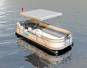 3D model River Ferryboat