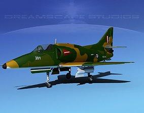 Douglas A-4G Skyhawk RAN 3D model