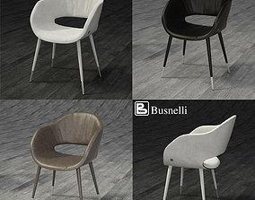 Busnelli Charme Plus Chair 3D model