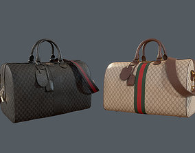 3D Gucci Ophidia GG medium travel duffle bag