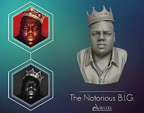 sculpture The Notorious BIG 3D model