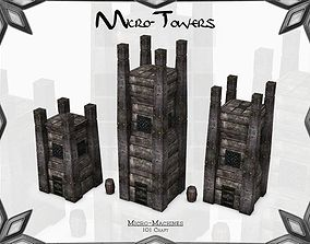 3D asset Micro-Towers