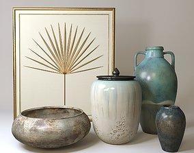 3D JOHN-RICHARD decorative set