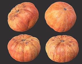 garden 3D model game-ready Pumpkin