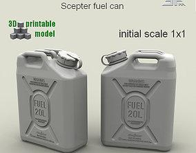 3D printable model SPM-003-01Print Scepter Fuel Can