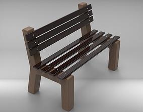 Bench 1 3D print model