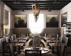 3D model La V Restaurant in Austin Texas