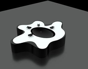 3D model White Design Ashtray