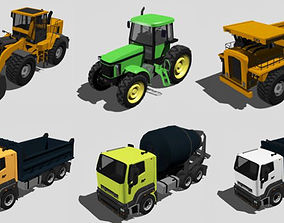 Heavy Trucks 3D model