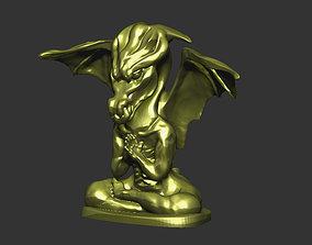 dragon in prayer 3D printable model