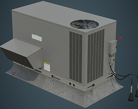 3D asset Rooftop AC Unit 2A