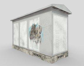 3D model Electrical Substation Building 2