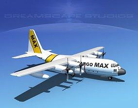 Lockheed C-130 Hercules Cargo Max 3D model
