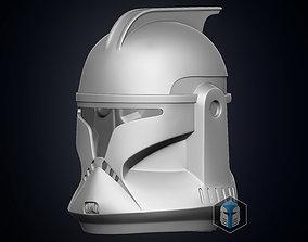 Phase 1 Clone Trooper Helmet armor 3D print model